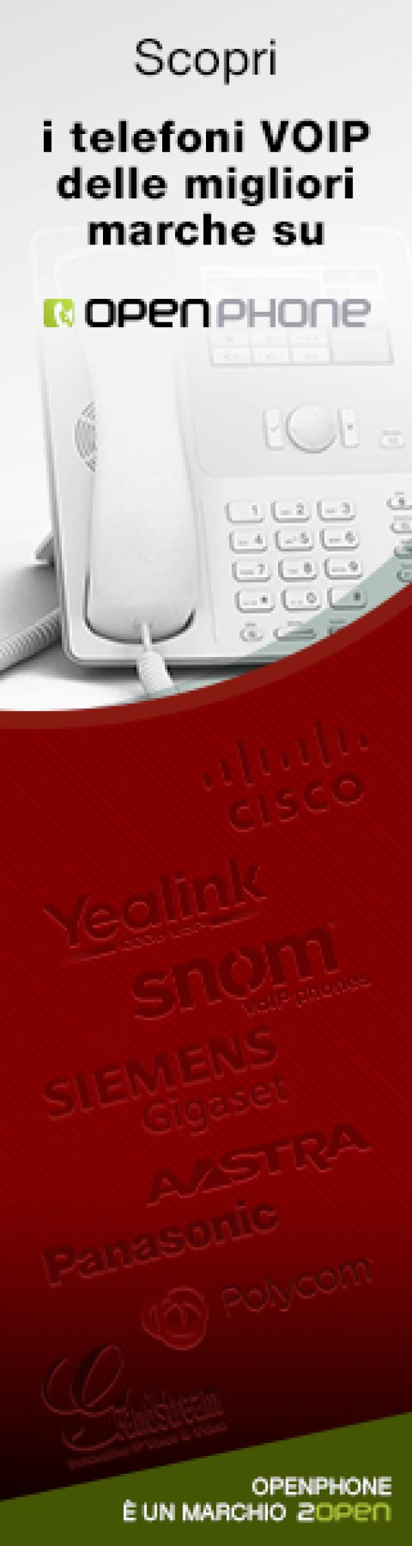 Link all'acquisto on-line dei telefoni VOIP delle marche più famose